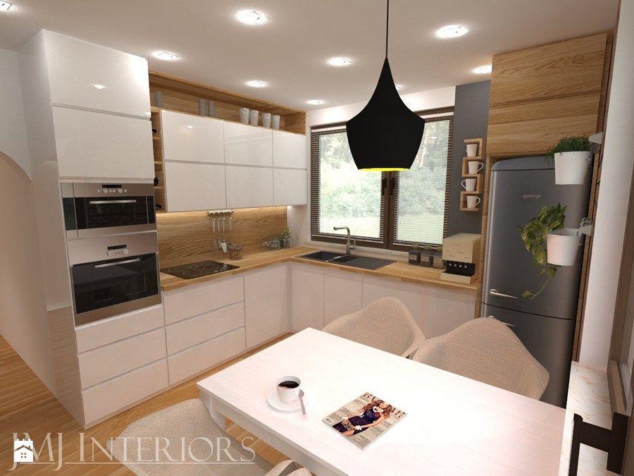 Aranzacje Wnetrz Kuchnia Kuchnia Na Rotmance Jmj Interiors Przegladaj Dodawaj I Zapisu Interior Design Kitchen Kitchen Interior Modern Kitchen Interiors