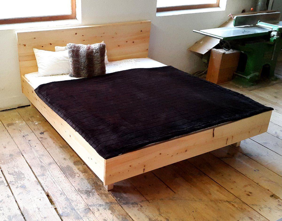 Luxury Bett aus Zirbenholz Zirbe Zirbelkiefer Alpenholz Holzduft therische le Holzbett