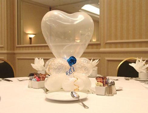 Balloon Centerpiece Wedding