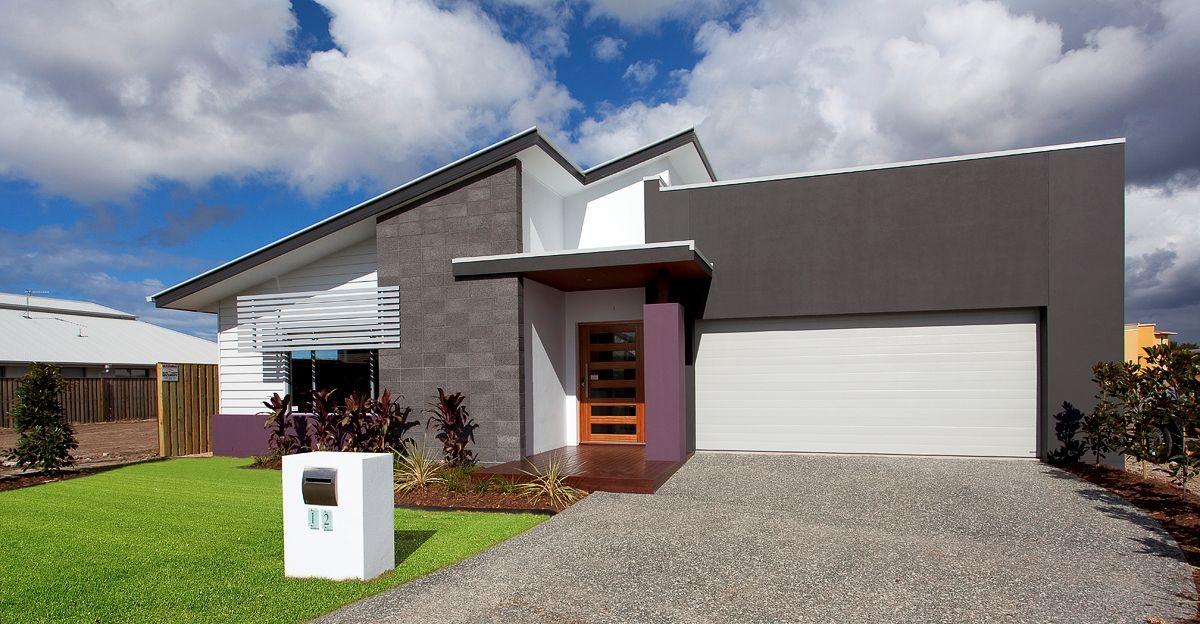 10 dise os de fachadas de casas modernas de un piso for Diseno y construccion de casas