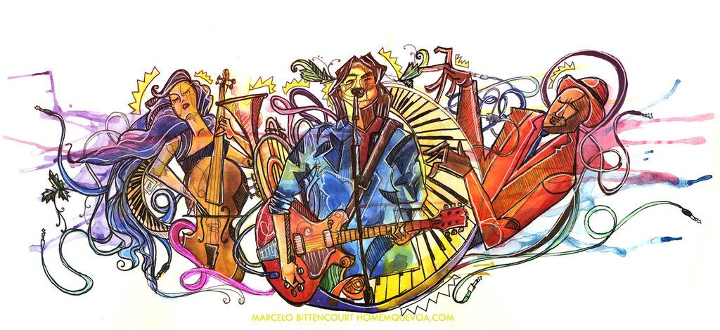 Music Is Life by circuscreative.deviantart.com on @DeviantArt