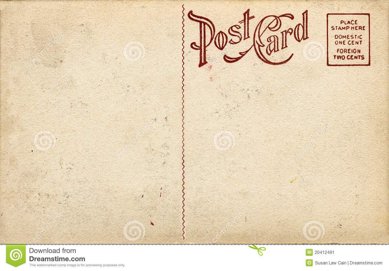 postcard template download