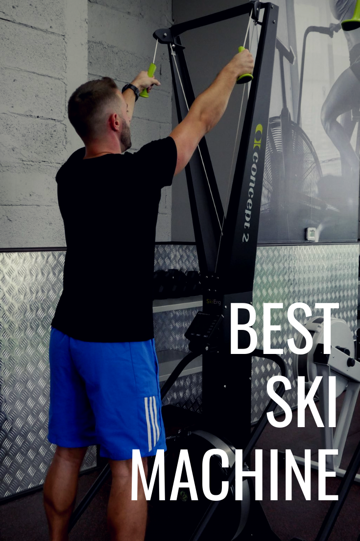 Concept 2 skierg the best ski machine on the market today! home