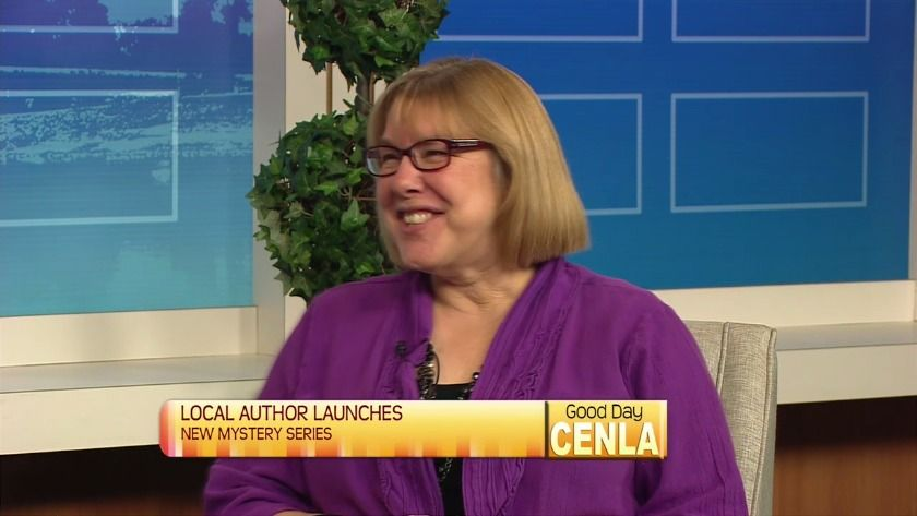 Author Cherie Claire on Good Day Cenla, Central Louisiana