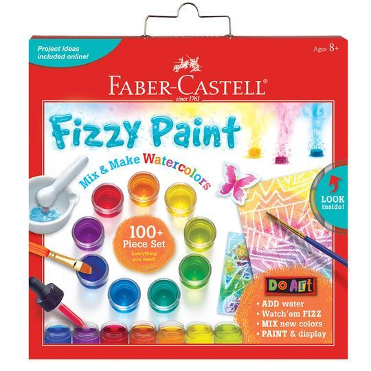 Faber Castell Do Art Fizzy Paint Mix Make Watercolors Set
