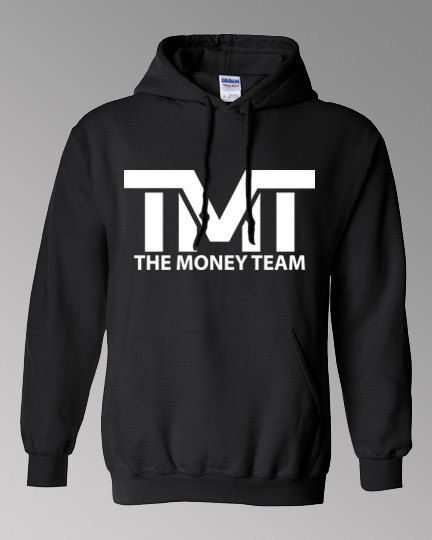 The Money Team Hoodie Floyd Mayweather Jr TMT by OwnageTees 1e3e18ab47f