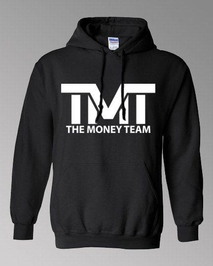 The Money Team Hoodie Floyd Mayweather Jr TMT by OwnageTees 18170b9094c