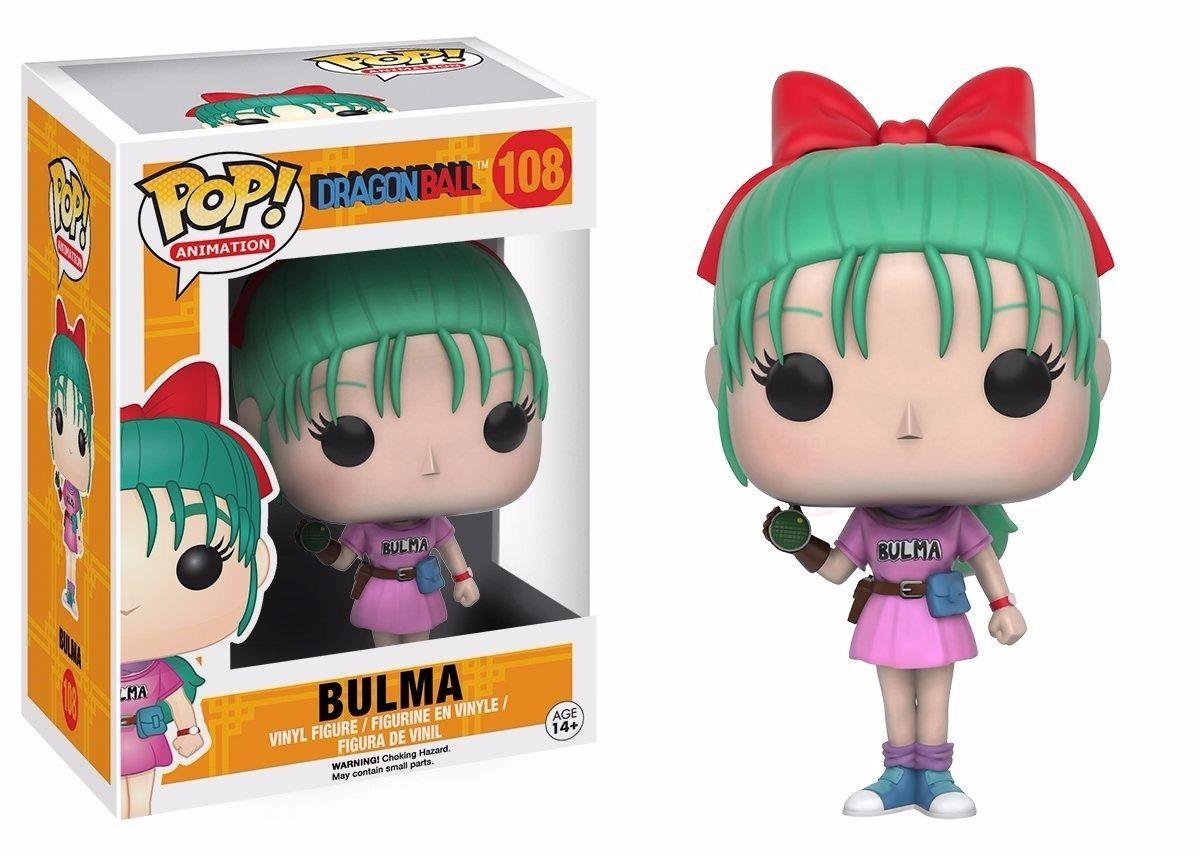 Funko Pop Anime Dragon Ball Z Bulma Vinyl Action Figure Pop Vinyl Figures Vinyl Figures Pop Figurine