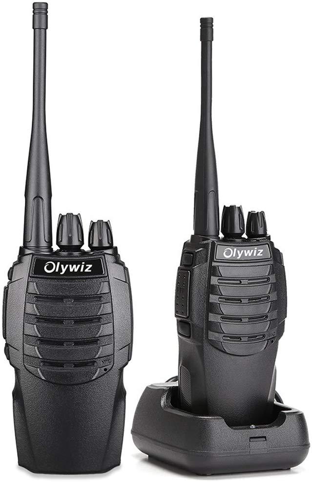 Amazon Com Walkie Talkies Two Way Radio Olywiz Htd826 Rechargeable Long Range 1800mah Li Ion Battery Uhf 406 470mhz 2 Pack Two Way Radio Two Way Radios Radio