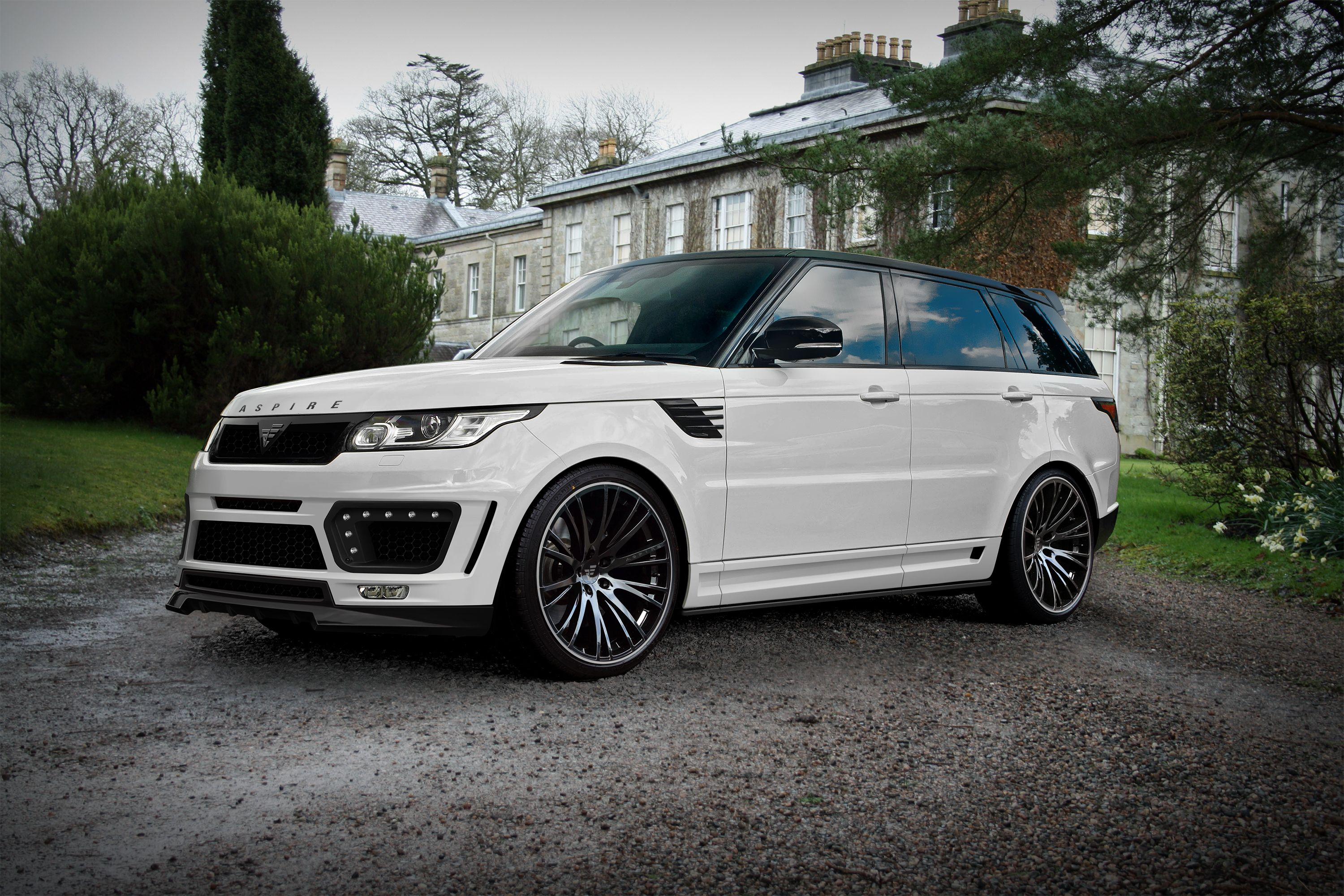 Bespoke Body Styling And Kits For The New Range Rover Sport From Aspire Www Aspire Design Co Uk Custom Range Rover Range Rover Sport Price Range Rover Sport