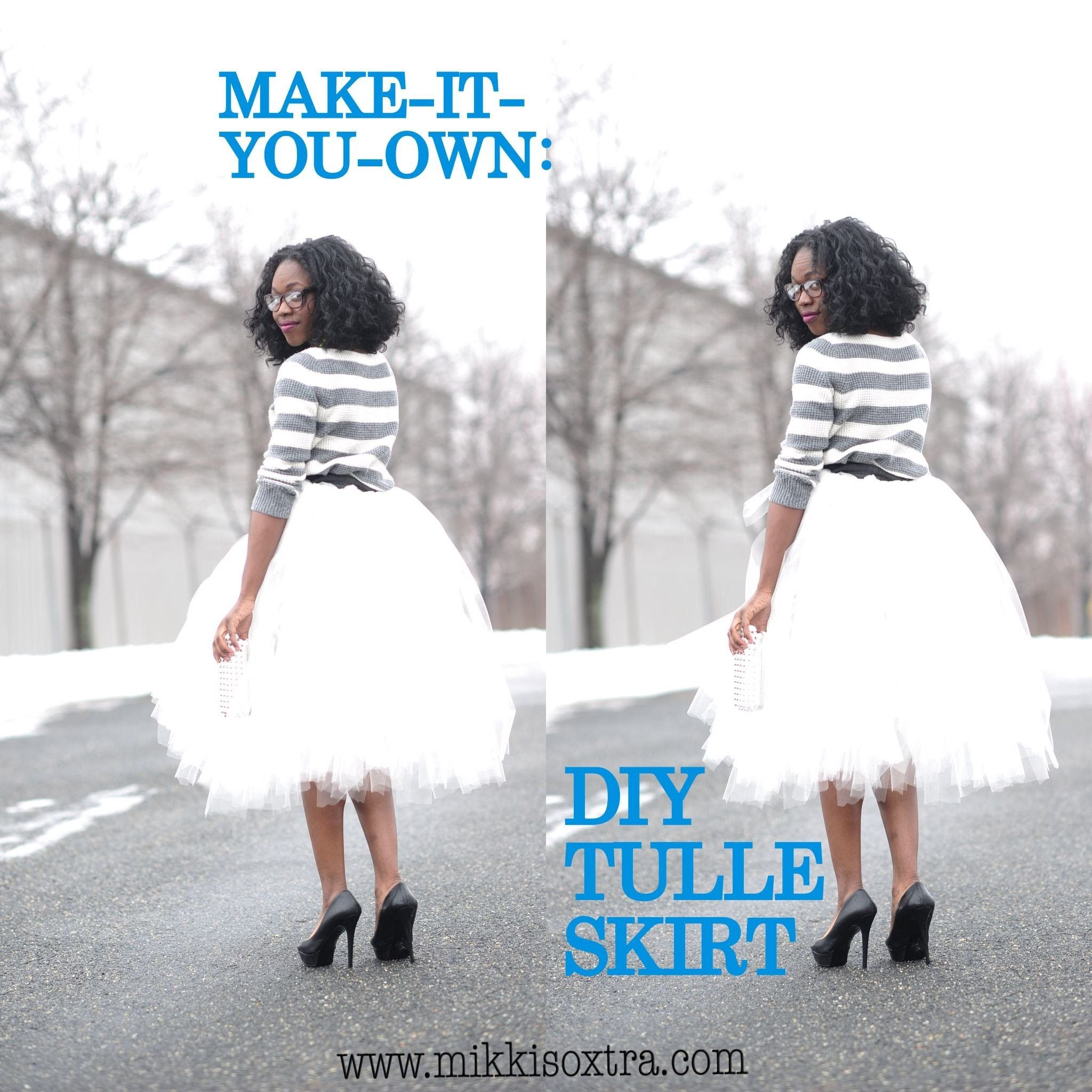 make it your own tulle skirt no sew method i want to make this