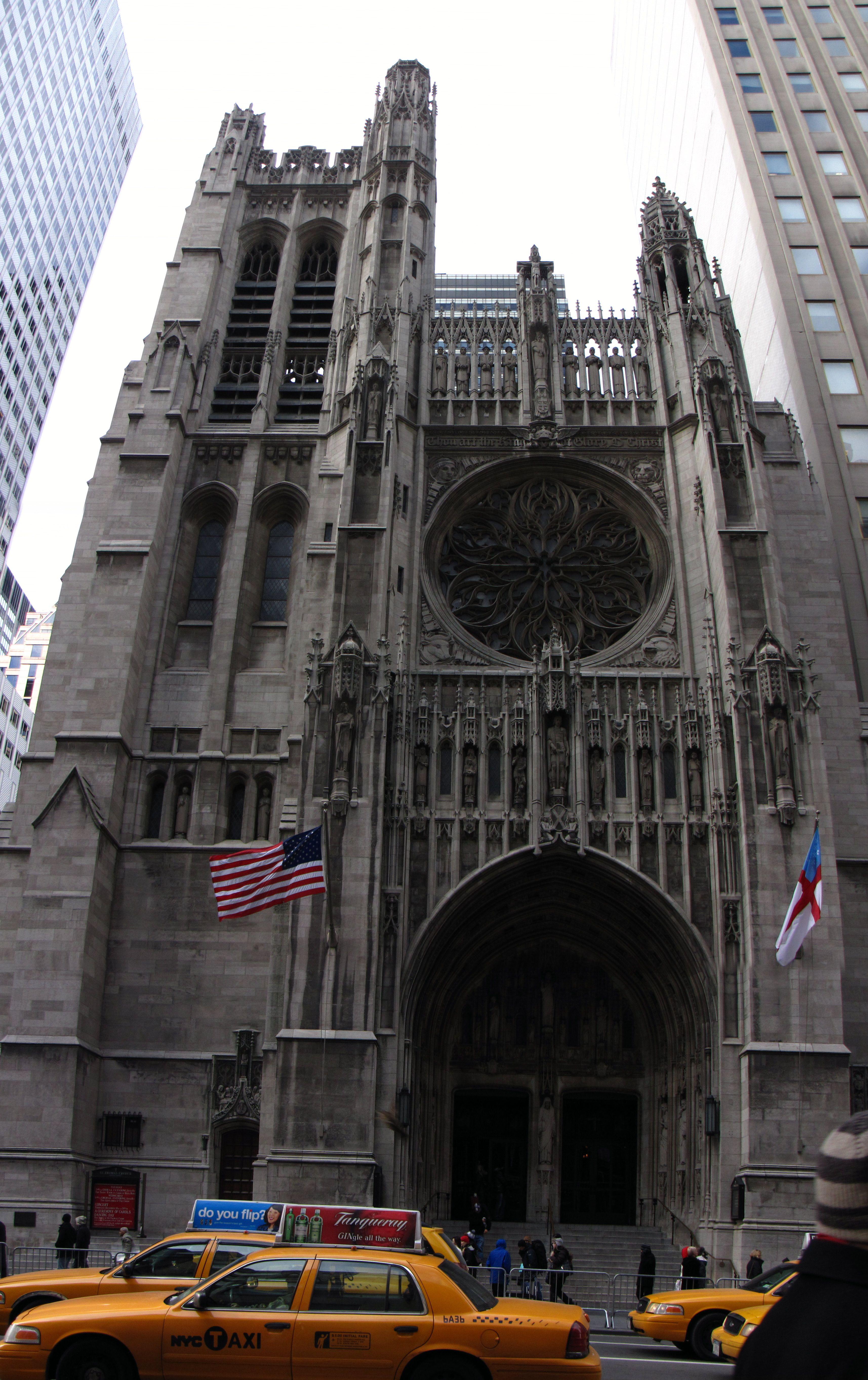 Presbyterian Church on 5th Ave at 55th Street   New York, New York ...