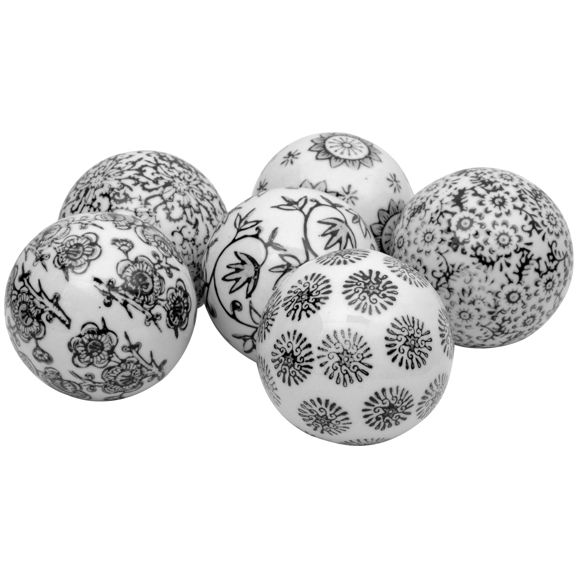 balls crimson over red free shipping garden decor product set home of decorative overstock on orders inch