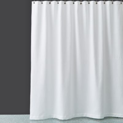 Hudson Park Extra-Long Waffle Weave Shower Curtain Bloomingdale's