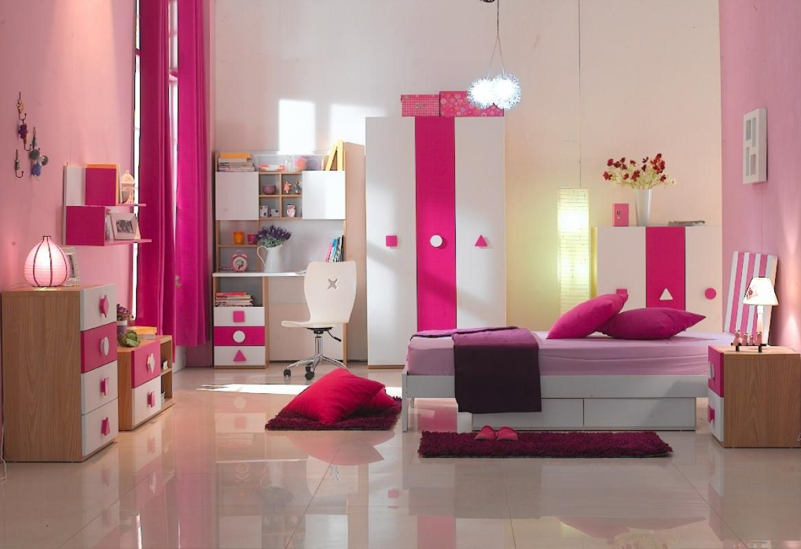 Kid bedroom purple bedroom furniture set for your kids how for Childrens bedroom ideas girls