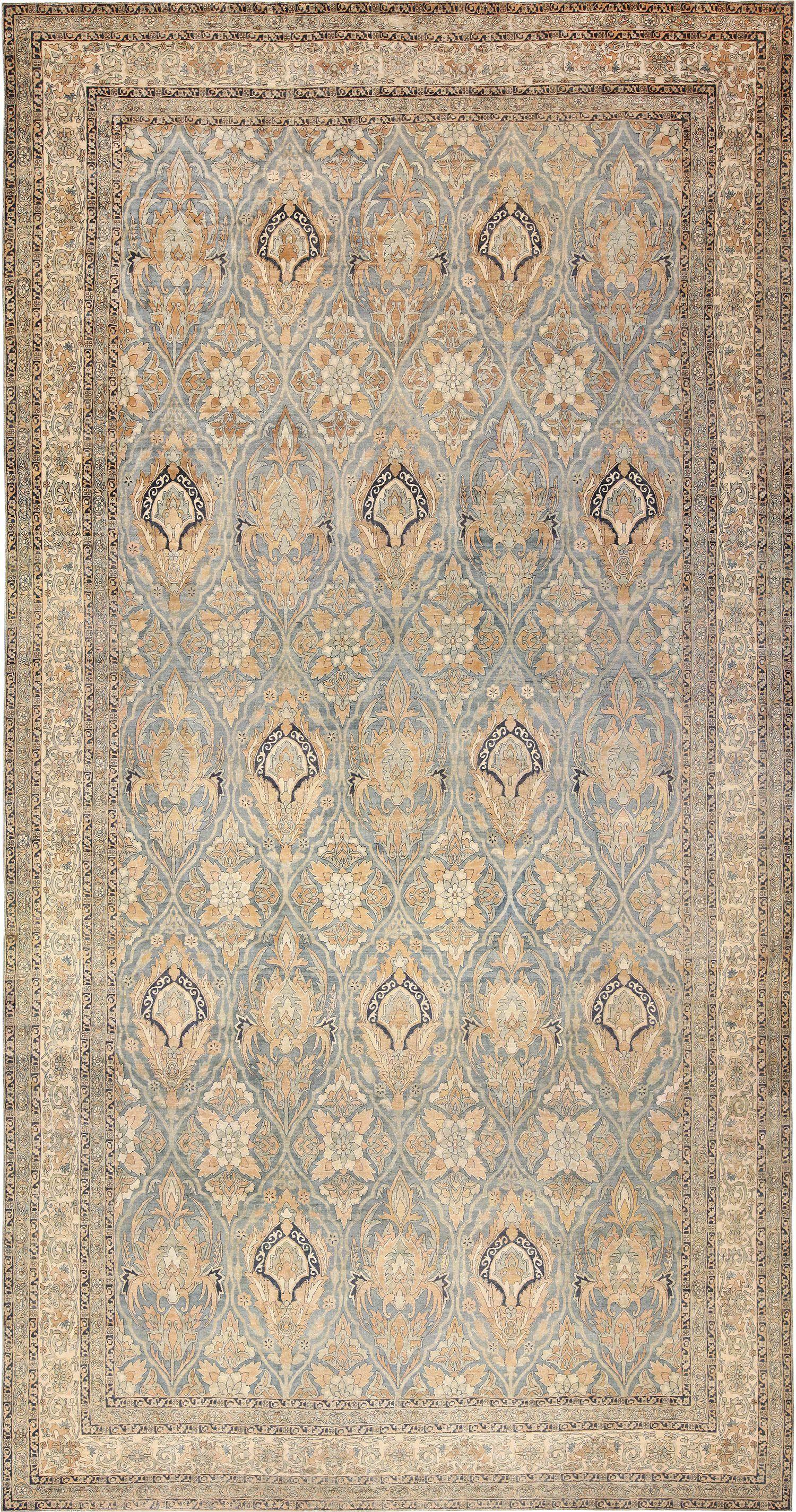 Antique Persian Kerman Rug 48234