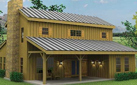 Timber Frame House Plan of Texas Timber Frames Elevation | Houses I ...