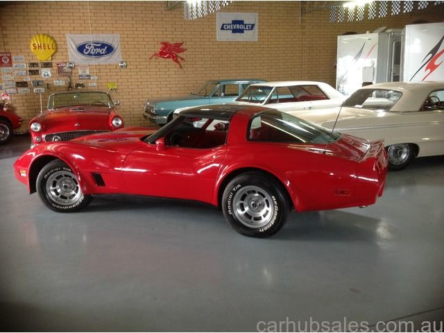 1981 Chevrolet Corvette 350 Manual Adelaide U2013 Car Hub Sales