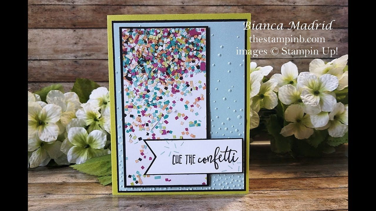 video birthday card 1  cue the confetti from the