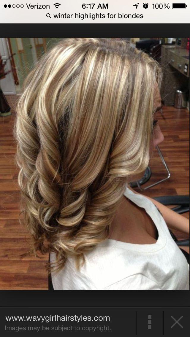 Winter Hilights Hair Pinterest Hair Hair Styles And Blonde Hair