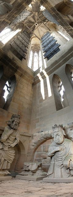 Inside the Reims Cathedral towers, Cathedral of Notre-Dame at Reims, Paris   by Steven2358 on Flickr