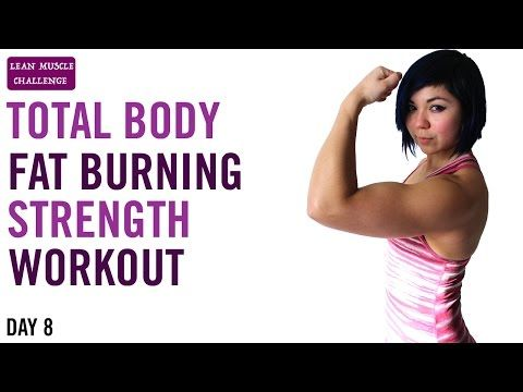 50 minute total body fat burning strength workout  30 day