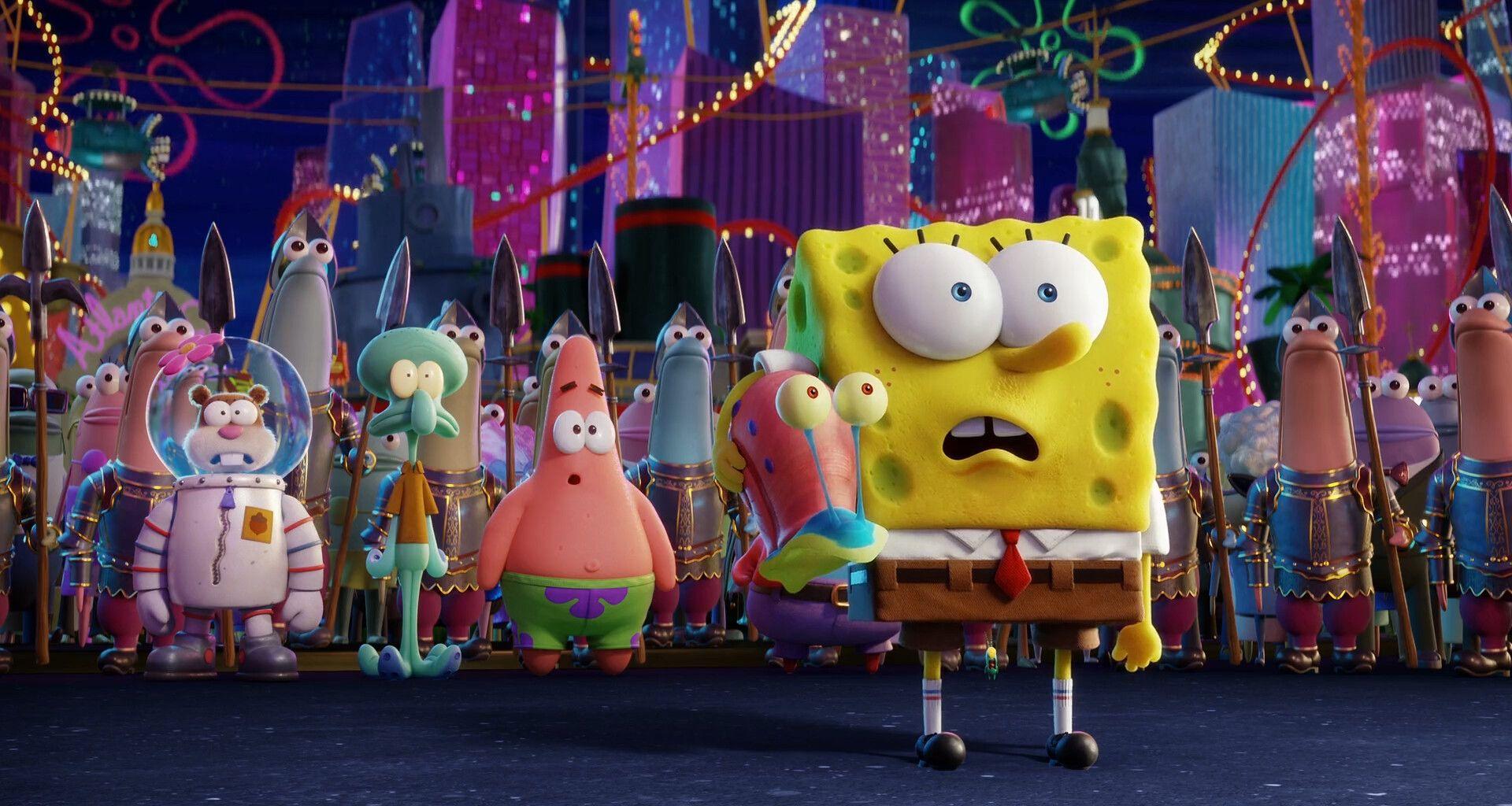 Sponge Bob 3 Movie, Romain Brodelle