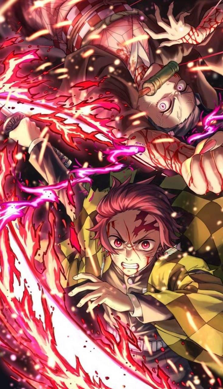 Download Demon Slayer Wallpaper By Slayntsama 81 Free On Zedge Now Browse Millions Of Popular Inosuke Wallpapers And Ring Anime Demon Slayer Anime Slayer