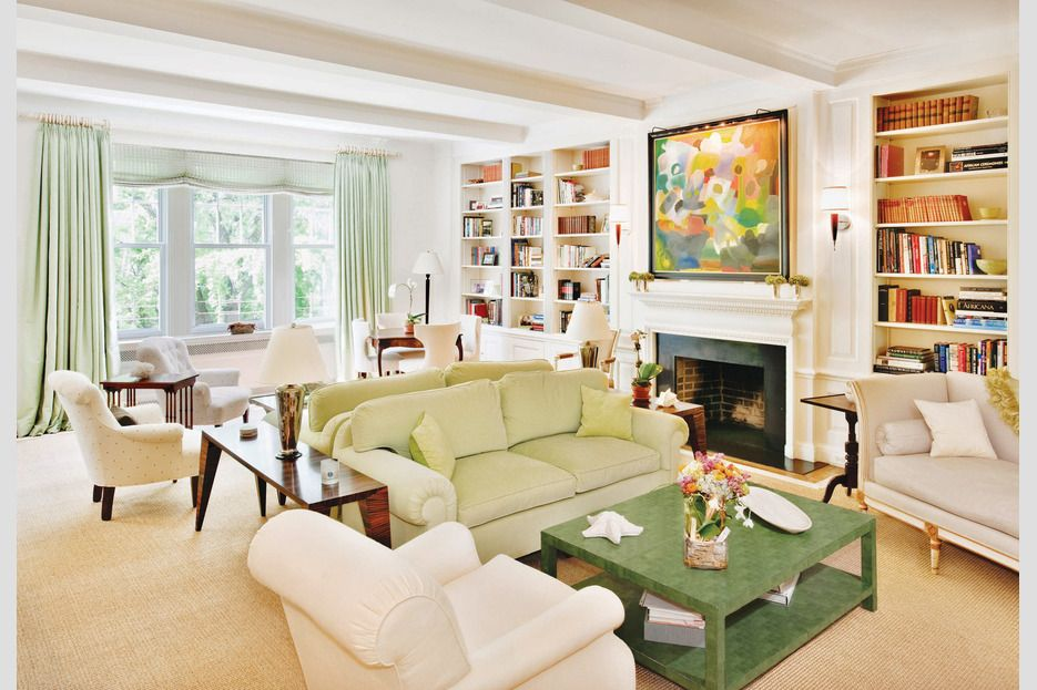 Multiple Conversation Areas In One Big Room Home Design