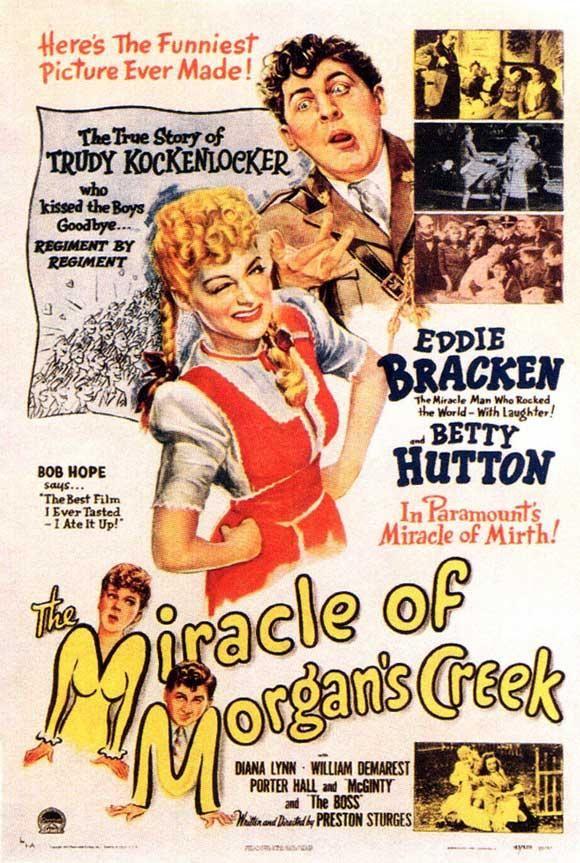 El Milagro De Morgan Creek 1944 Dvd Clasicofilm Cine Online Cine Online Películas Completas Cine