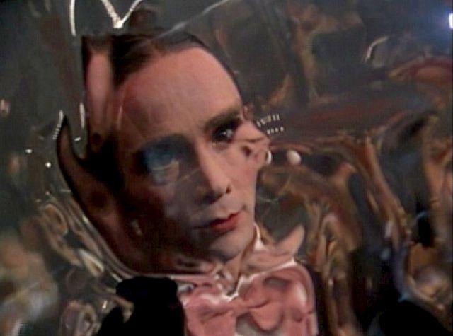 Joel Grey, image in a distorted mirror shot - ''Cabaret'' 1972 | Joel grey,  Cabaret, Bob fosse
