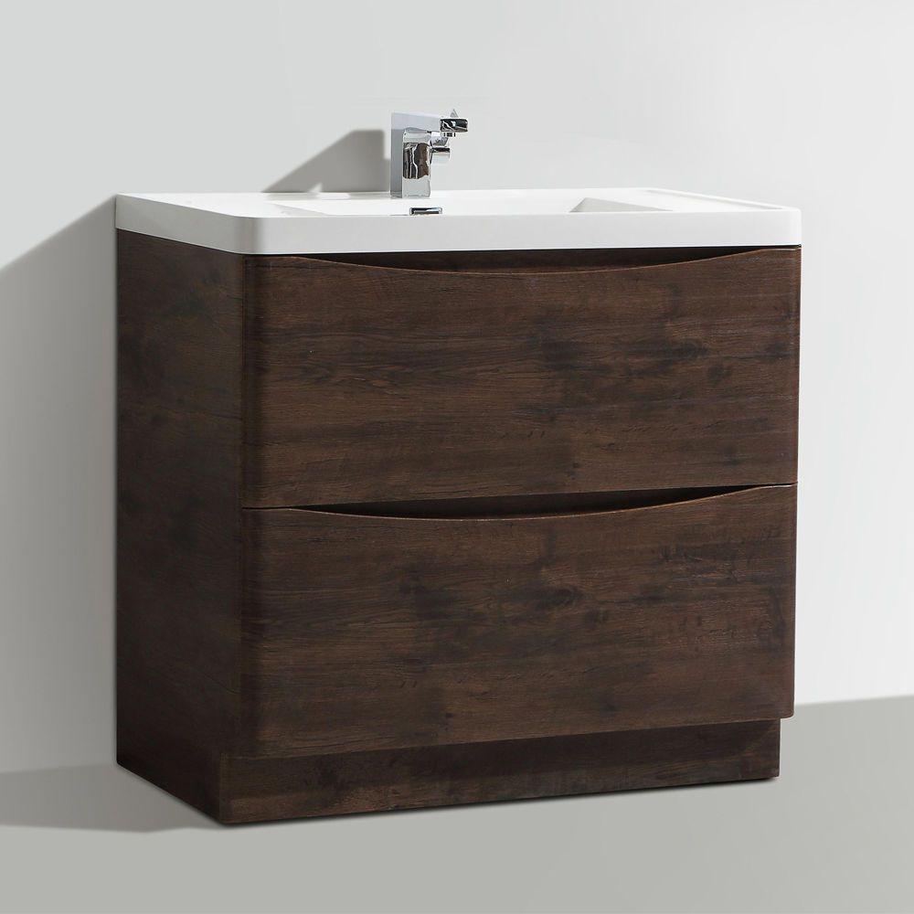 Designer Vanity Units For Bathroom Amazing 900Mm Designer Chestnut Bathroom Floor Standing Vanity Unit Review