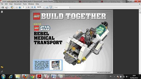 LEGO Instructions for LEGO Star Wars Alternate Model | lego ...