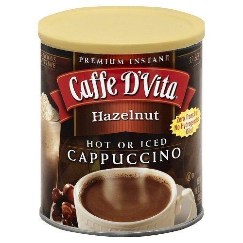 Caffe D'Vita Capuccino Hazelnut (6x16Oz)