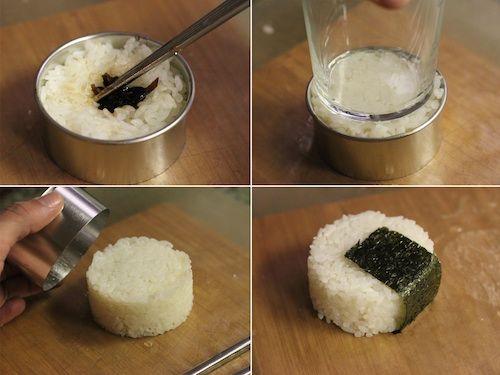 How To Make Onigiri Japanese Rice Balls Makanan Enak Makanan Siang Anak Ide Makanan
