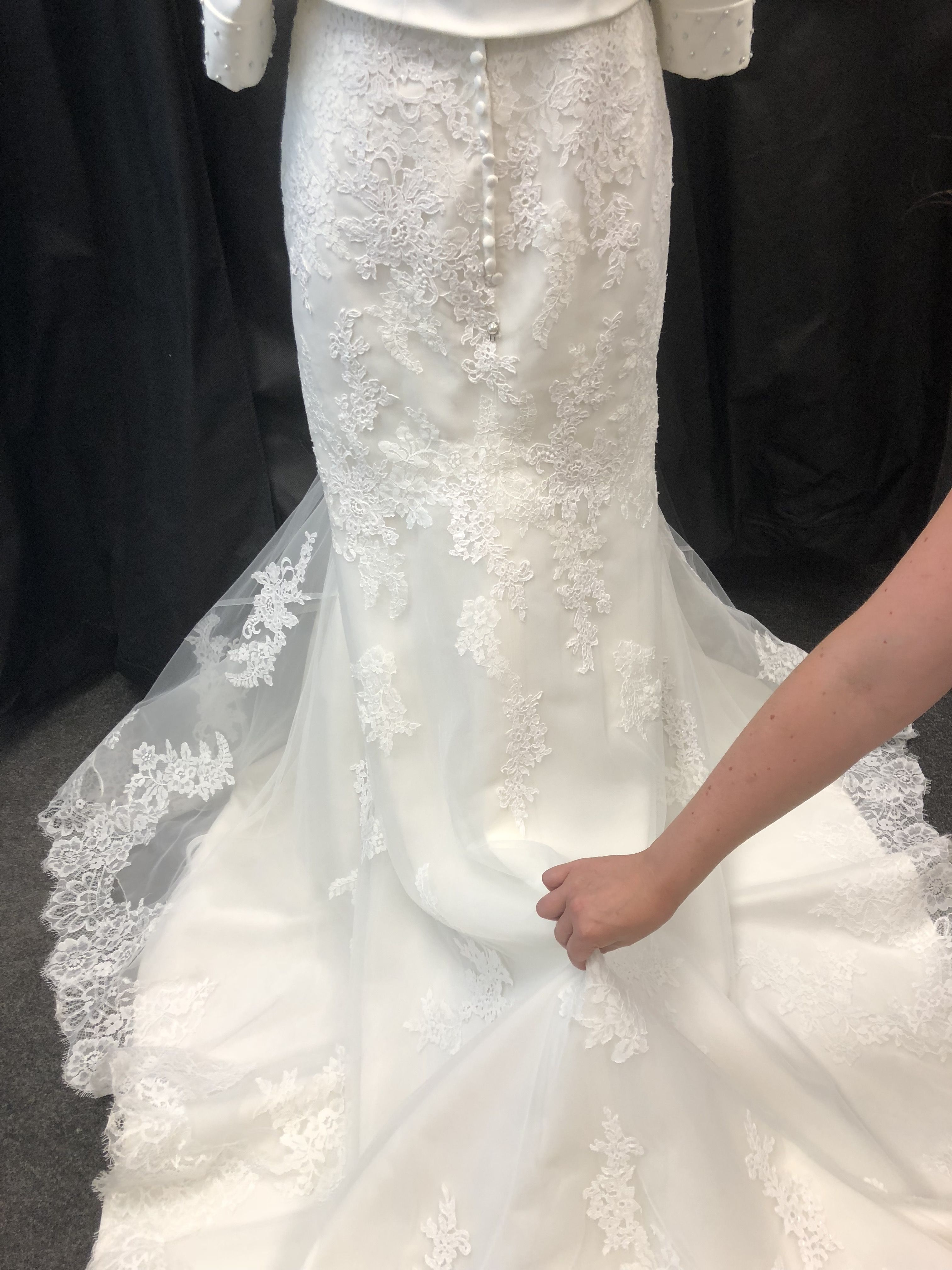 Have You Thought How To Bustle Or Hook Up Your Wedding Dress Train