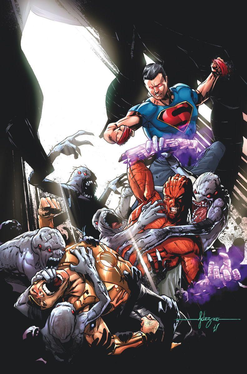 #Superman #Fan #Art. (DOOMED #6 Cover) By: JAVIER FERNANDEZ. ÅWESOMENESS!!!™