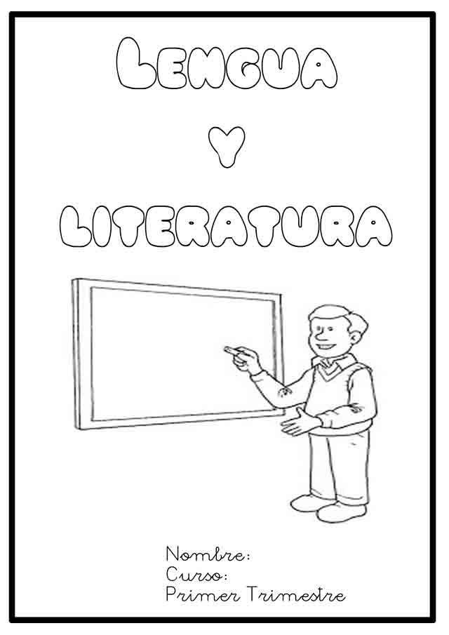 Resultado de imagen de caratulas para libretas de lengua ...