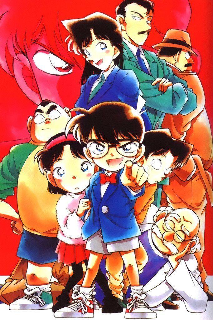 Detective Conan Anime Poster Conan movie, Conan, Detective
