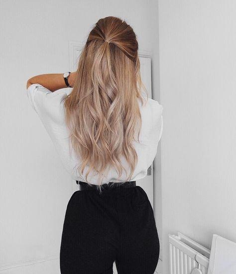 45 einfache und süße lange Frisuren, die Sie jetzt ausprobieren sollten – #out …