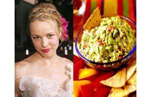 Гуакамоле с креветками, манго и авокадо от Рейчел МакАдамс