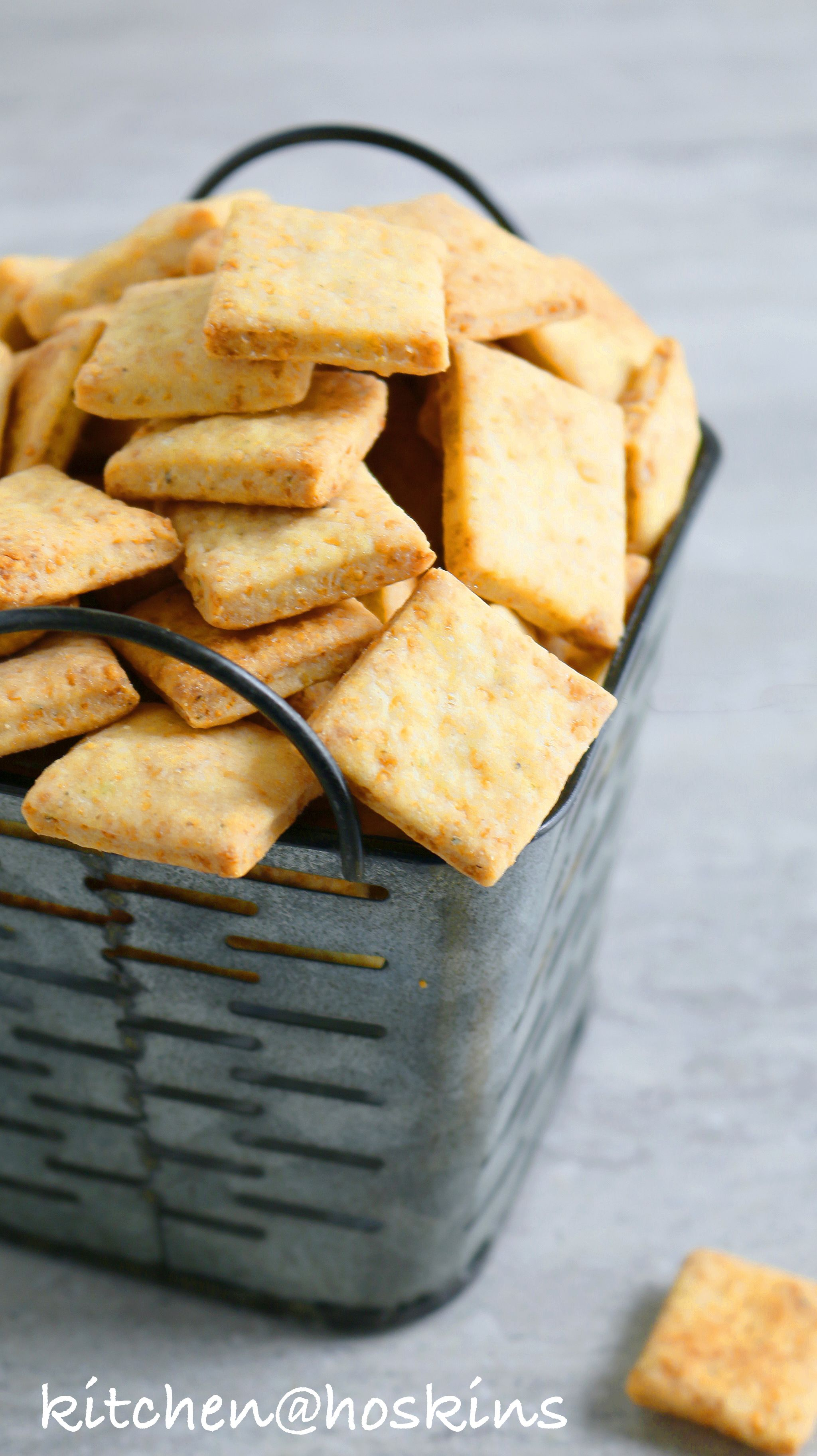 Homemade Parmesan Cheese Crackers Kitchen Hoskins Recipe Cracker Recipes Homemade Crackers Homemade Cheese Crackers