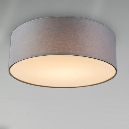 Deckenleuchte Drum LED 30 grau | beleuchtung | Deckenlampe ...