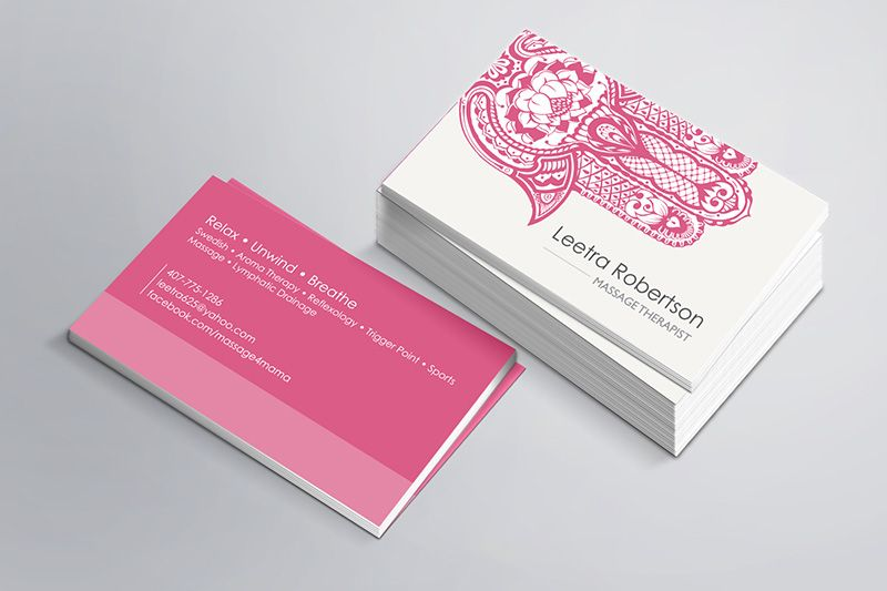 Orlando Graphic Design (With Images) Psychologist Business Card