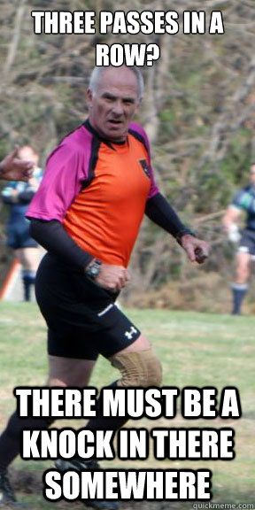 Pru Rugby Ref Quickmeme Rugby Memes Rugby Girls Rugby Quotes