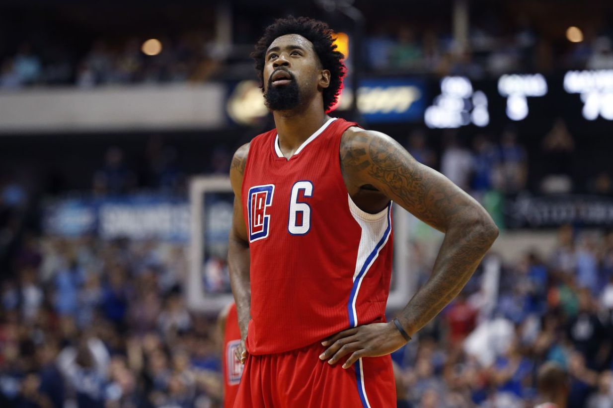 "DeAndre Jordan aka ""DJ"" 