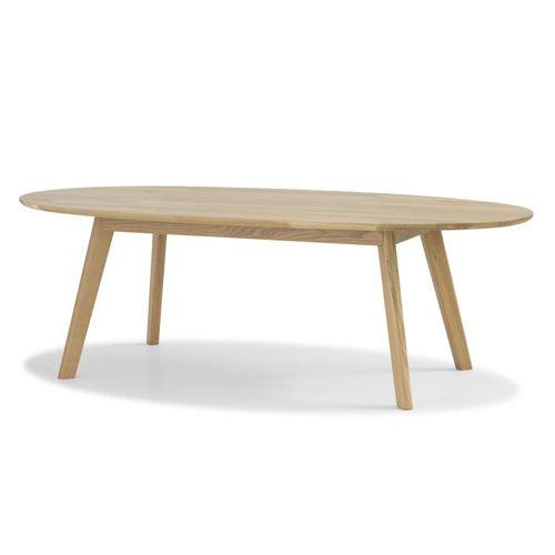 Ovale Basse En Naturel Chêne Table Massif RetrusSalon On0Pkw8