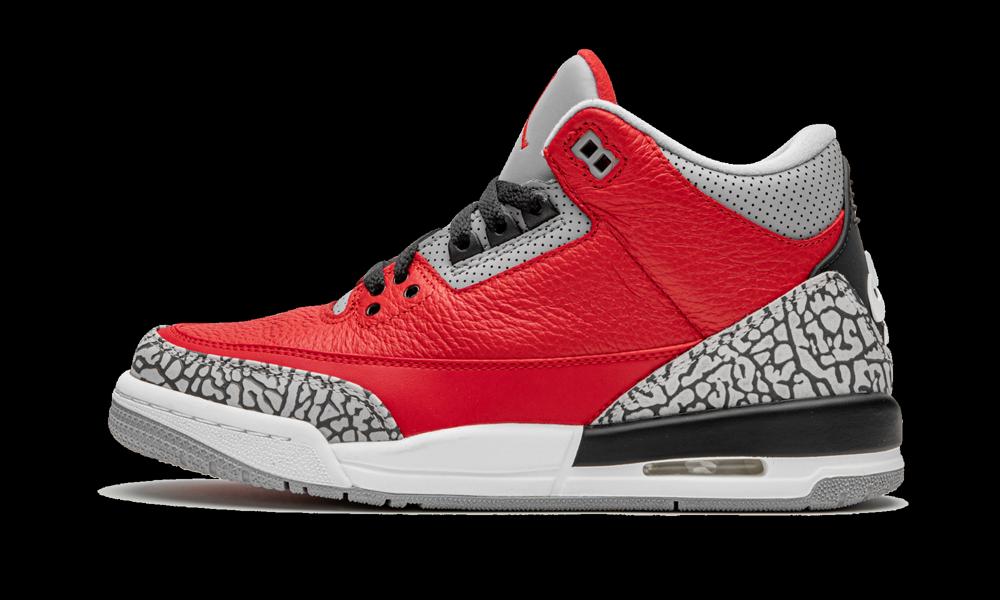 Air Jordan 3 Retro Gs Red Cement Unite Cq0488 600 2021 In 2021 Air Jordans Jordan Shoes Girls Air Jordan 3