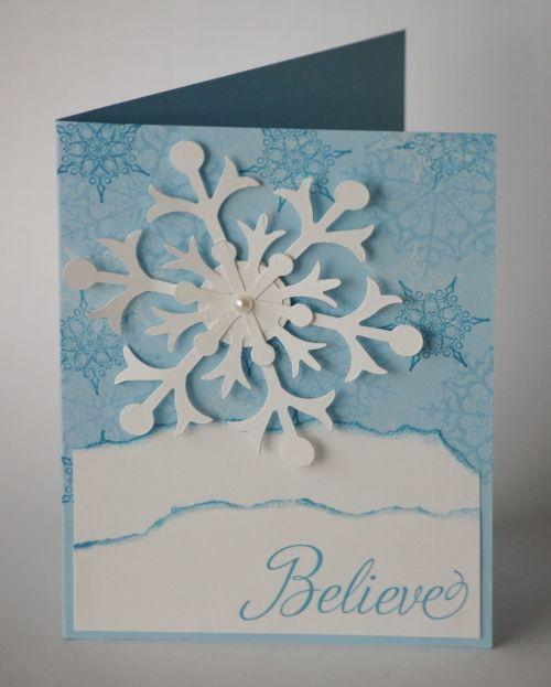 Snow Flurry card