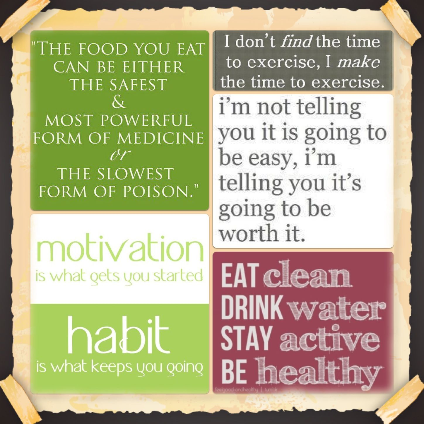 Inspirational Quotes About Health: Motivation Is What Gets You Started...Habit Is What Keeps